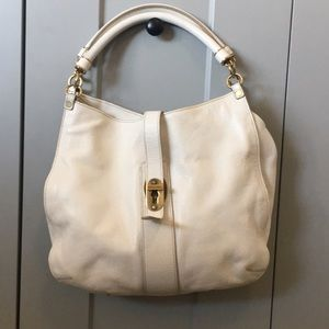 Burberry: HP - Hobo bag with brass hardware